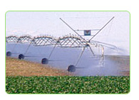 center irrigation pivots solar power